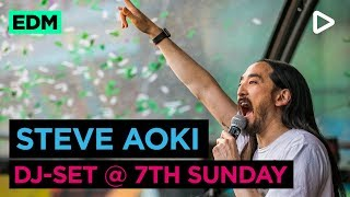 Steve Aoki - Live @ 7th Sunday 2018