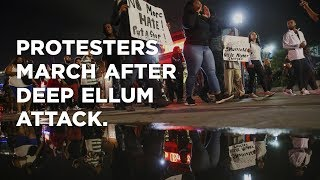 Protesters March After Deep Ellum Attack Sent Woman To Hospital, Bartender To Jail