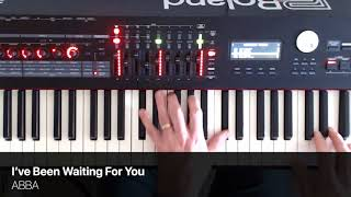 I've Been Waiting For You - ABBA - Piano Cover