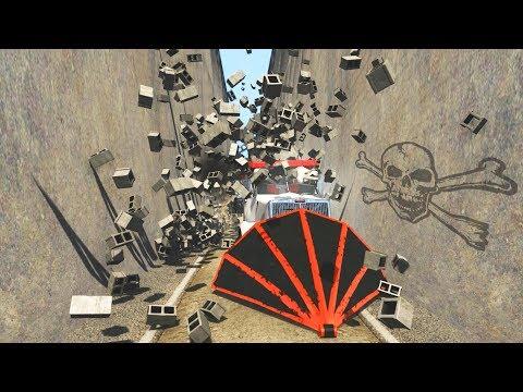 Bottleneck CRAZY RAMPAGE - BeamNG Drive - CrashTherapy