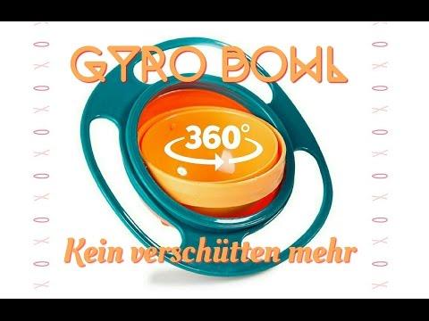Gyro Bowl - nie wieder was verschütten