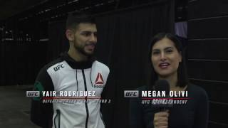 Fight Night Phoenix: Yair Rodriguez Backstage Interview