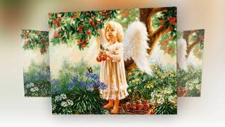 Рождественский Гимн Ангелов...★☆★ Художница Дона Джелсингер Dona Gelsinger