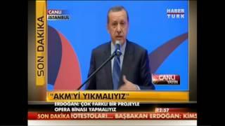 Gezi Parki Eylemi Basbakan Recep Tayyip Erdogan Konusmasi