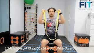 Stabilizacja kręgosłupa szyjnego z gumą – BNS011