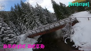 DRONE DETH vlog 4: hidden rip zone | fpv freestyle