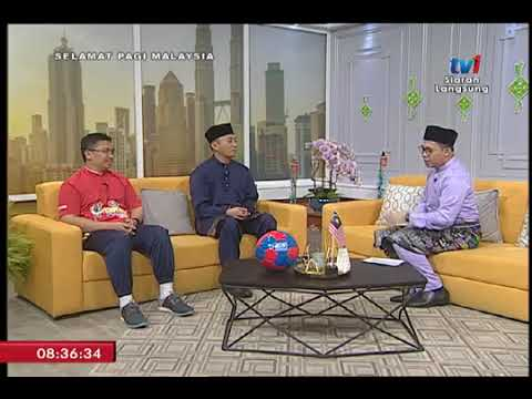 SPM TV1 - Sambutan Hari Raya & Cekak Fun Run - (29/6/2018)
