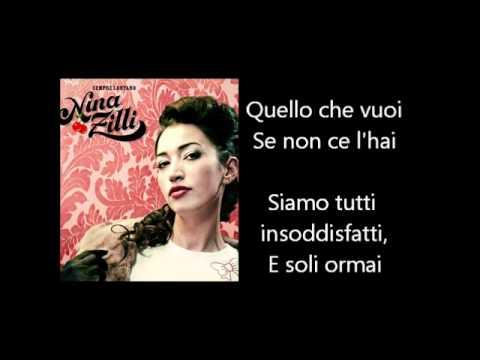 , title : 'Nina Zilli - L'amore E' Femmina Testo Lyrics'