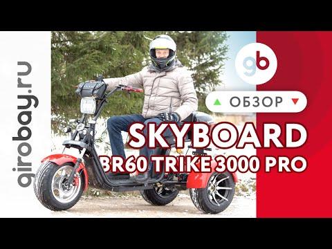 Электроскутер Skyboard BR60 3000 Pro Fast (Синий)
