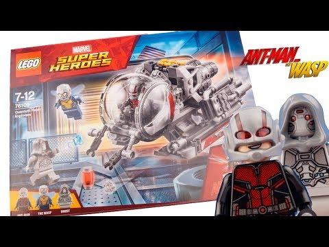 LEGO MARVEL Человек-муравей и Оса Исследователи квантового мира (76109)