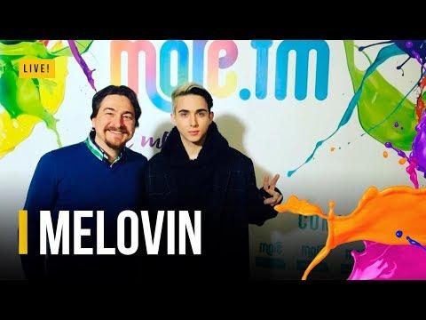 Откровения MELOVIN в эфире RADIO MORE.FM (видео)