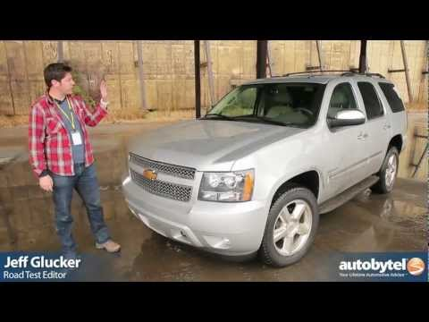 2012 Chevrolet Tahoe Test Drive & SUV Video Review