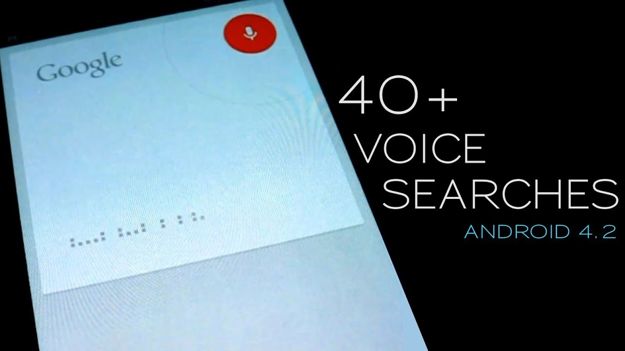 Jelly Bean Voice Search Looks Like A Feature That Might Actually Be Useful