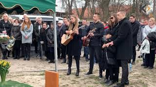 Film do artykułu: Pogrzeb Jerzego Kalibabki w...