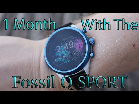 1 Month With The Fossil Q Sport (4th Gen) REVIEW
