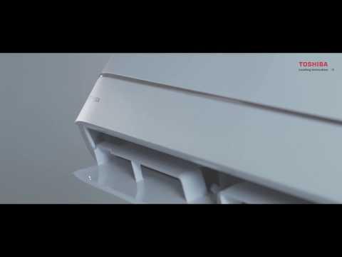 Кондиционер Toshiba RAS-09U2KH2S-EE/RAS-09U2AH2S-EE (U2KH2S gold) Video #1