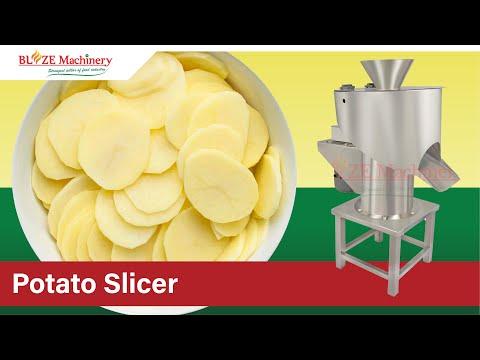 Potato Slicer Hand Push Machine