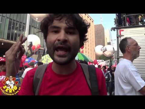 Éder Bruno Manifestação pró-Dilma #Nãovaitergolpe
