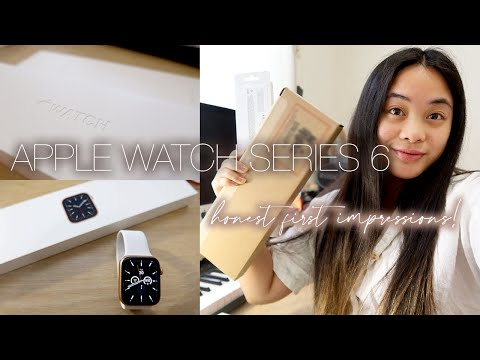 APPLE WATCH SERIES 6 UNBOXING + HONEST FIRST IMPRESSIONS *...is it really worth it?*