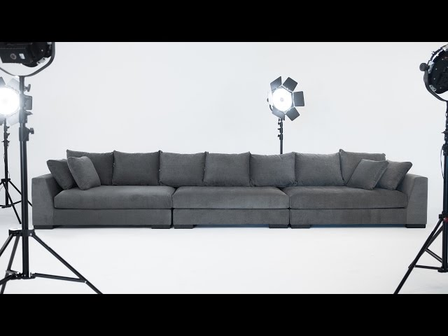 Video: COOPER Modular sectional sofa