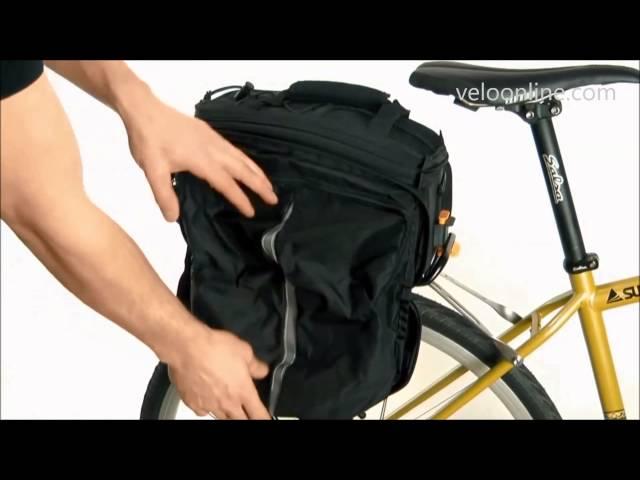 Видео Велосумка Topeak MTS Trunk Bag DXP