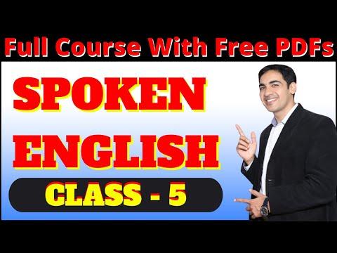 English speaking course Class 5 | English speaking practice | Basic spoken English course |