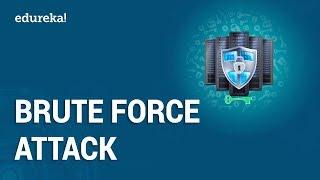 What is Brute Force Attack? | Password Cracking Using Brute Force Attacks | Edureka