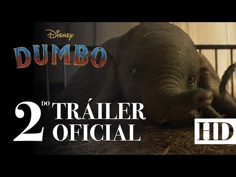 Mira el segundo tráiler de Dumbo 🐘