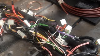 Подготовка кабины Камаз к работе электрика.Трансформация тягача в самосвал .
