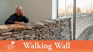 Andy Goldsworthy, Walking Wall - Stage 5