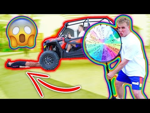 EXTREME TRUTH OR DARE SPIN WHEEL GAME!!