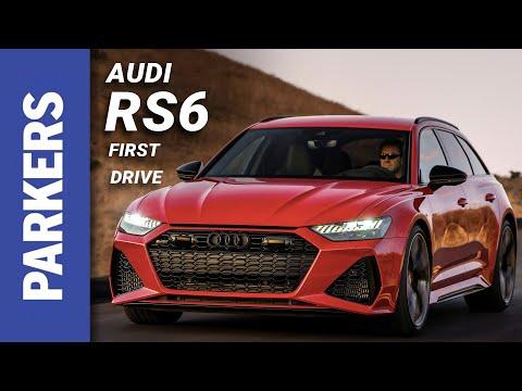Audi A6 RS6 Avant Review Video