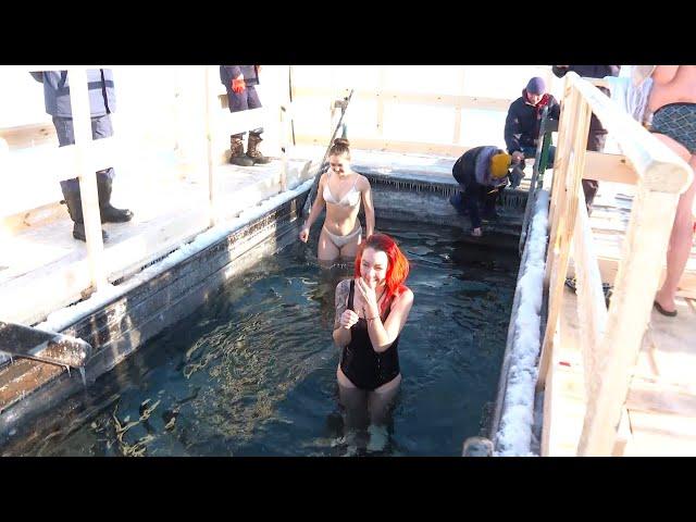 Сегодня православные отметили Крещение Господне