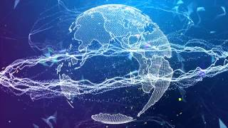 HD Trapcode particular after effects   Trapcode form 3D earth UHD   Plexus after effects background