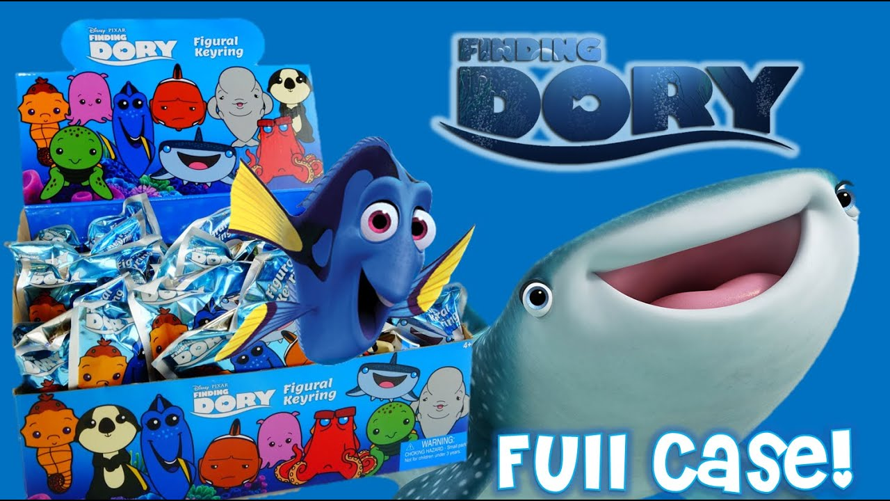 Disney Finding Dory Figural Keyring Blind Bags Complete Set | Evies Toy House