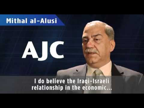 Iraqi politician Mithal Alusi supports Iraqi peace with Israel