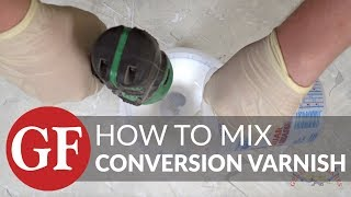 How To Mix General Finishes Water-Based Conversion Varnish