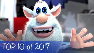 Booba - Compilation of TOP 10 episodes of 2017 - Cartoon for kids