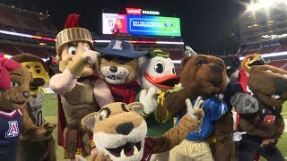 Watch the Pac-12 Mascots dance off on the field at Levi's Stadium in VR180