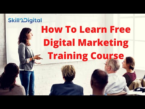 How to learn free digital marketing training course 2020