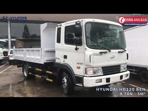 [MỚI 100%] Hyundai HD120 Benz nhập khẩu 6 tấn thùng 5m3