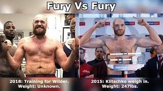 TYSON FURY: 2018 VS 2015 - THEN VS NOW!!! WILDER/KLITSCHKO
