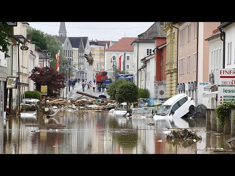 Βιβλικές πλημμύρες σε Γαλλία – Γερμανία