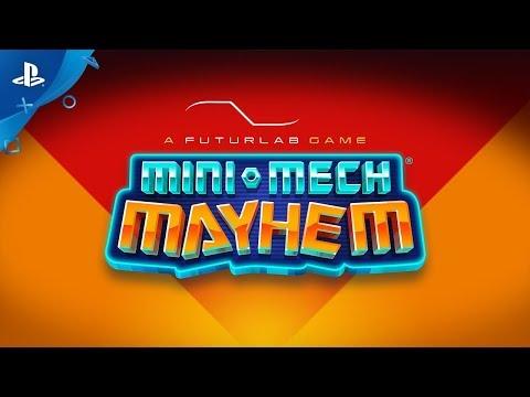 Mini-Mech Mayhem - Full Reveal Trailer | PS VR thumbnail