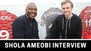 Shola Ameobi on Newcastle, charity and his future as a coach