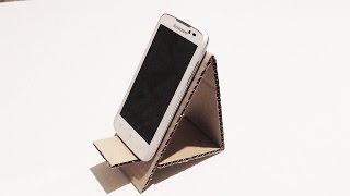 Подставка для смартфона из картона | Модная жизнь