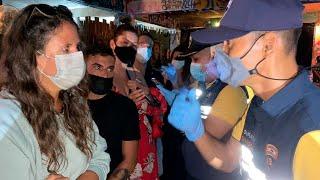 video: Thai police raid island resort arresting 89 foreigners, including Britons, for violating coronavirus regulations