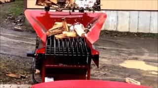 Automated Firewood Tumbler