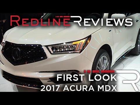 2017 Acura MDX – Redline: First Look – 2016 New York Auto Show