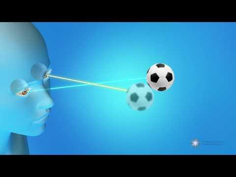 Széles pupilla látásvizsgálata